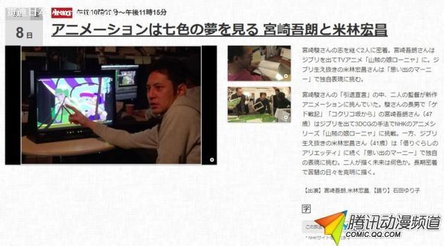 吉卜力又不解散了 宫崎骏欲转投短篇动画