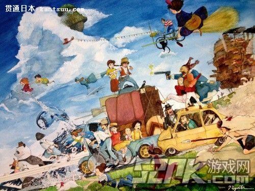 宫崎骏炮轰日本宅男:日本动漫正在被宅男毁灭