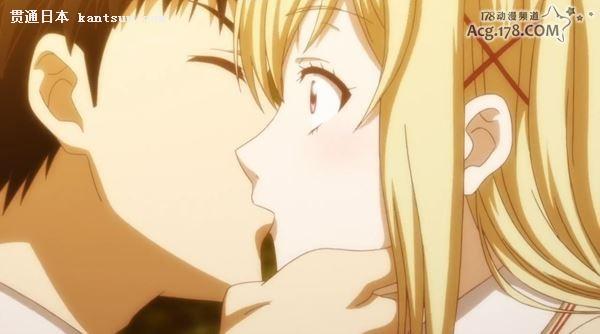 可爱女生亲吻动态