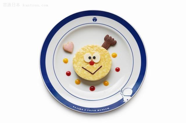 哆啦A梦博物馆推出情人节菜单