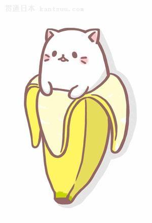 香蕉里的超级萌猫《香蕉猫》宣布tv动画化
