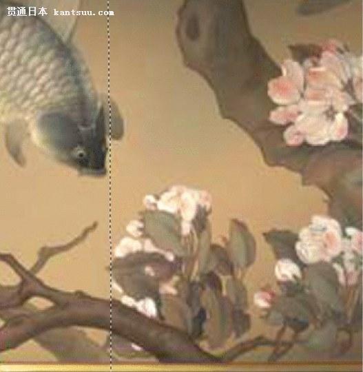 《大鱼海棠屏风前的椿》涉嫌剽窃宋画《海棠蛱蝶图》
