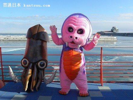 看到北海道吉祥物,你们还觉得康康丑吗?