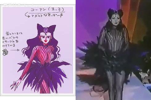 揭秘《美少女战士》中的时尚来源