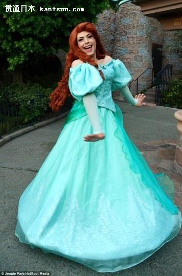 太好看!少年神cos变身迪士尼公主