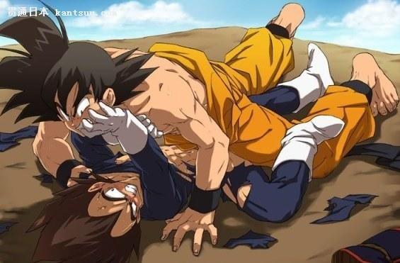 第2位:孙悟空vs贝吉塔(《龙珠》)
