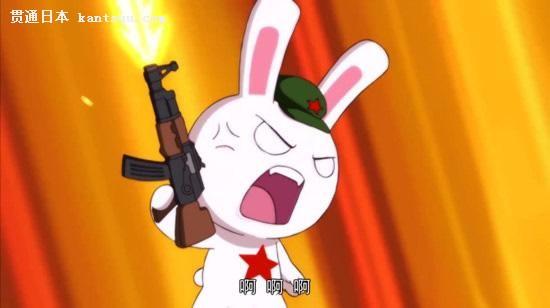"""除了当""""种花家""""的代言人外,兔子还经常以各种不同的形象出现,代表具体"""