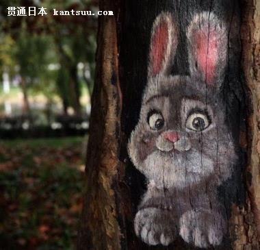 保护濒临动物广告画